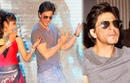 Shah Rukh Khan DANCING For Chammak Challo At the Launch of Videocon DDB