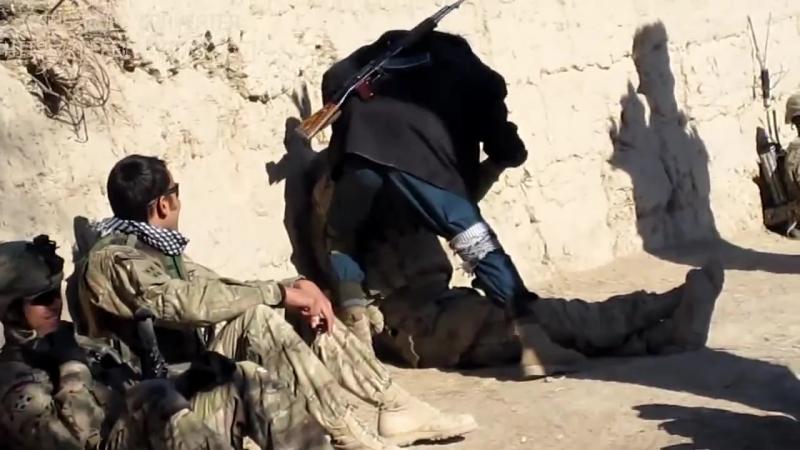 Конфликт между афганцем и американцем