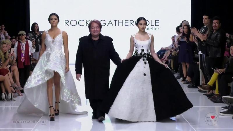 05 10 17 Лос Анджелес Rocky Gathercole at Los Angeles Fashion Week SS18