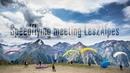 Спидфлаинг фестиваль в Les2Alpes, Франция. Speedflying meeting France