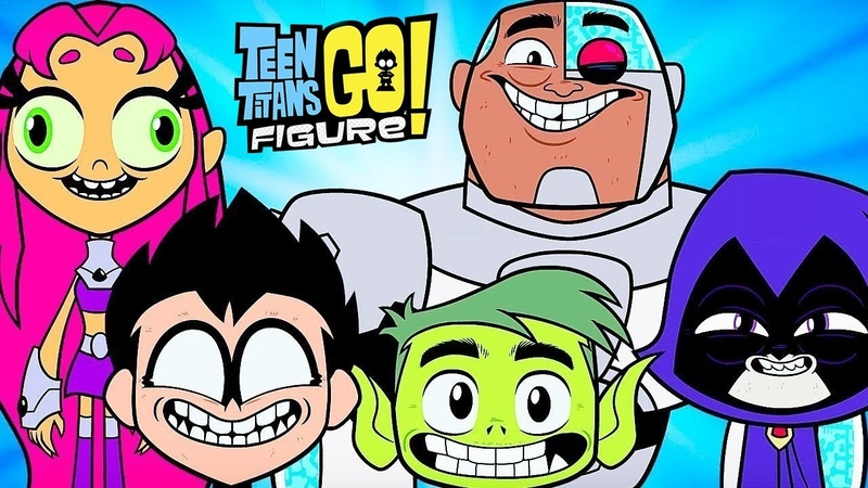 Мини Титаны (ЮНЫЕ ТИТАНЫ ВПЕРЕД 2)Teen Titans Go! Figure - ПАСХАЛЬНЫЕ ЯЙЦА ДЛЯ ЛИГИ СПРАВЕДЛИВОСТИ