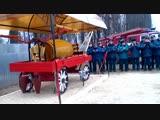 Торжественное открытие памятника конно-бочечного хода начала ХХ века в слободе Кукарке