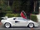 OnBoard Mario Andretti's Lamborghini Countach Gopro View