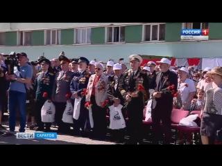 Ретро-поезд Победы прибыл в Саратов