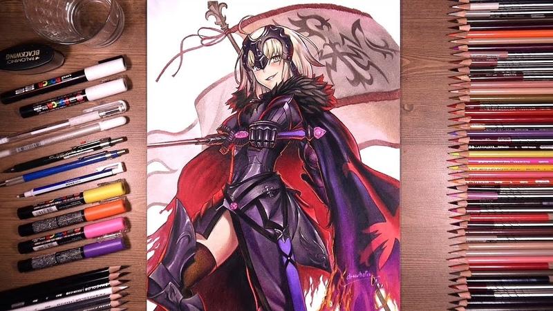 Fate/Grand Order : Jeanne d'Arc (Alter)   drawholic