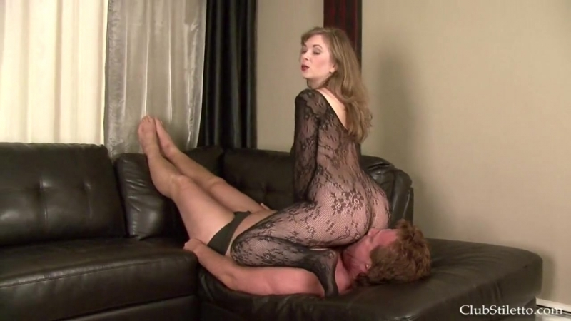 Femdom by clubstiletto clean it up cuckold