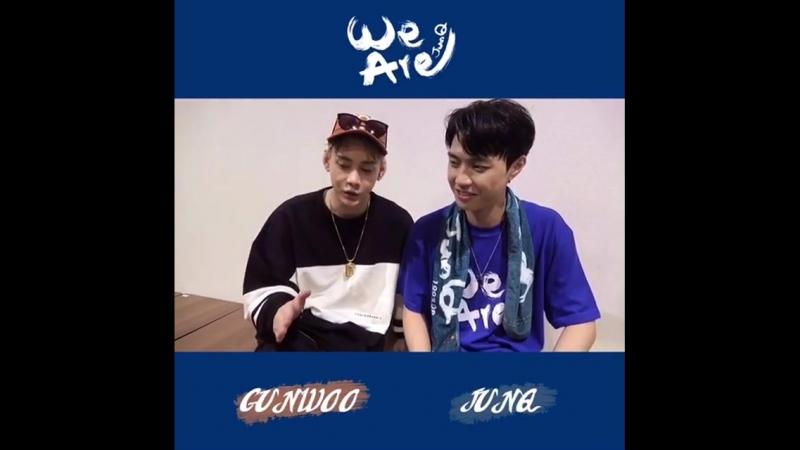 [SNS] 180816 Инстаграм @myname_jpn: Наконец завтра 17 августа❗️ Осака🚅 Ивент на день рождения Джункю「We are ♡」с Гону 🎪ESAKA Ha