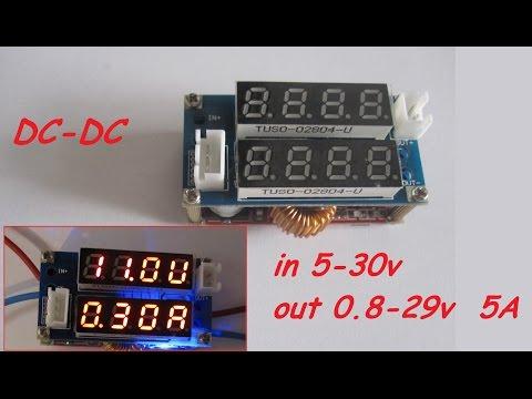 Dc-dc импульсный стабилизатор | CHARGE MODULE