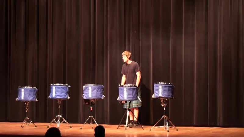THE OFFICIAL Hot Scots drum line o
