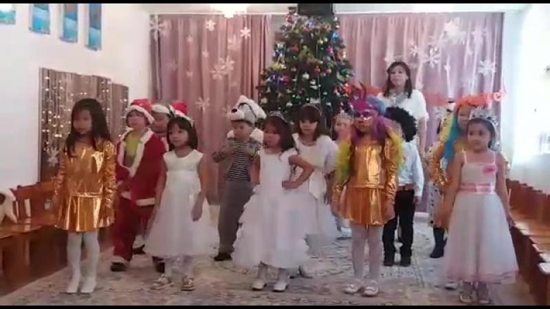 Жаңа жылдық шырша 29.12.2017 118 балабақша