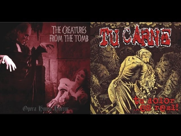 TU CARNE - Un Pasajero (from split w. THE CREATURES FROM THE TOMB) Rotten Roll Rex