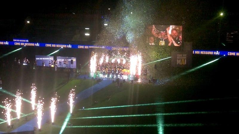 Lucarelli, addio al calcio durante la Festa del Parma