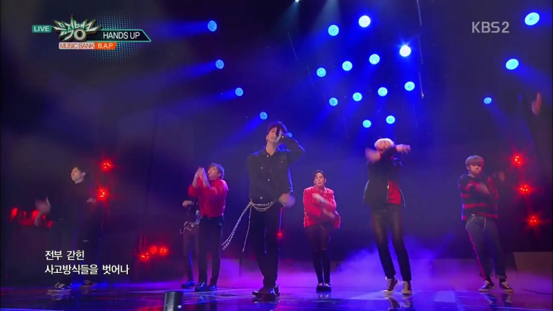 [PERF] [15.12.17] Music Bank - B.A.P - HANDS UP