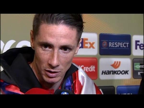 Fernando Torres, emocionado: Es algo que había perseguido toda mi vida