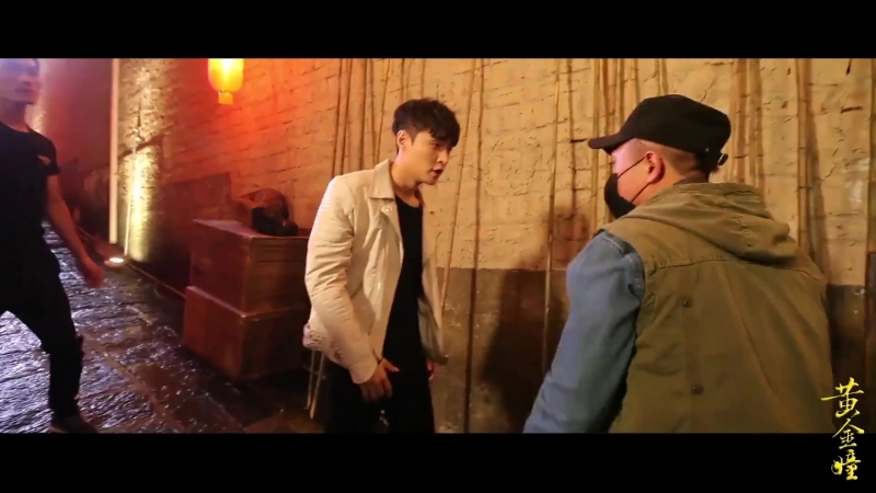 180921 EXO Lay Yixing @ 《黄金瞳》 «The Golden Eyes» Behind The Scenes