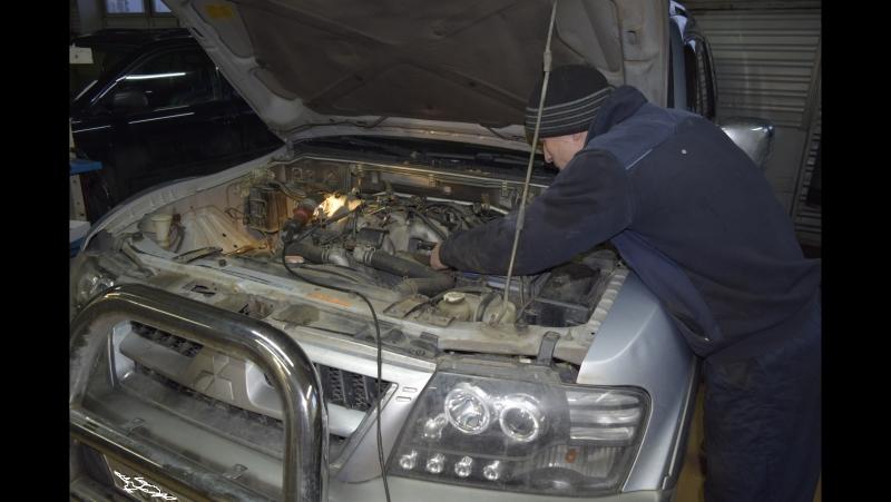 Mitsubishi Pajero 3.5 V6 GDI ремонт топливной системы