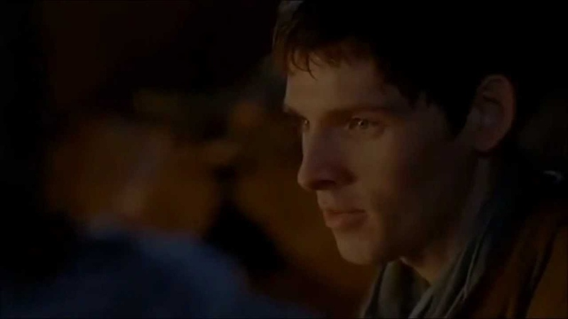 Merlin S 4 Deleted Scene - Arthur Gives Merlin His Mother's Sigil