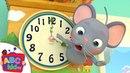 Hickory Dickory Dock Nursery Rhymes Kids Songs - ABCkidTV