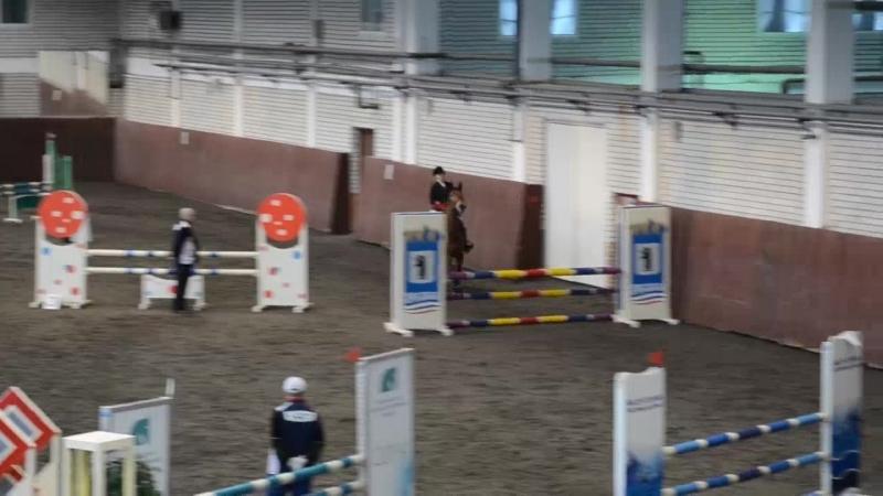 Алёна Афонина на Рапсодии(100 см) 2 место