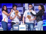 Malaika, Vidyut, Arbaaz, Neha at Gillette Fusion Power Phantom Launch