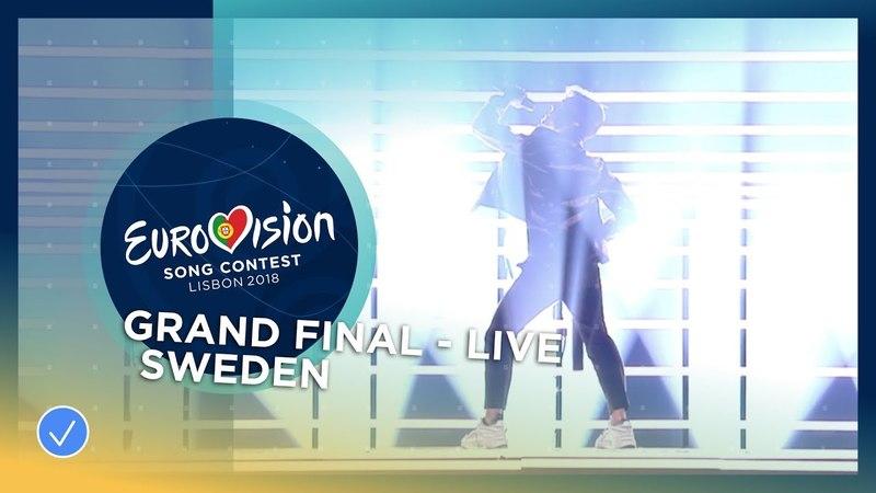 Benjamin Ingrosso - Dance You Off - Sweden - LIVE - Grand Final - Eurovision 2018