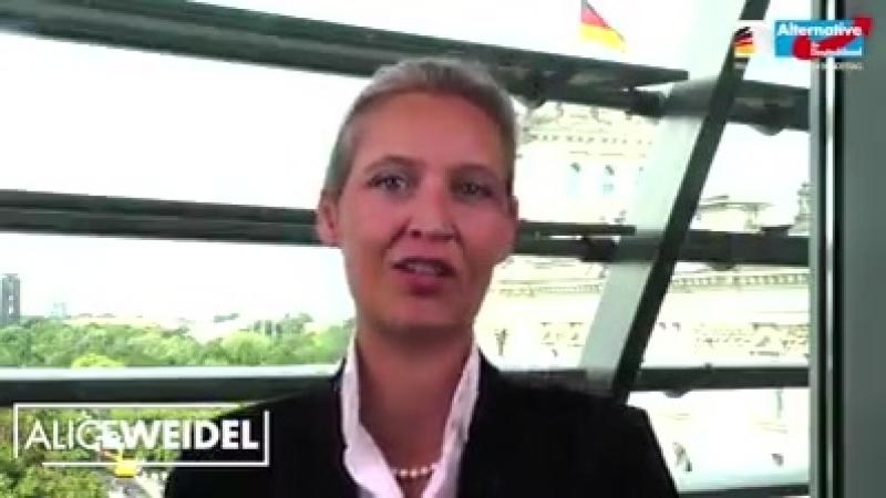 Alice Weidel - Jetzt teilen! Das MUSS Deutschland über...