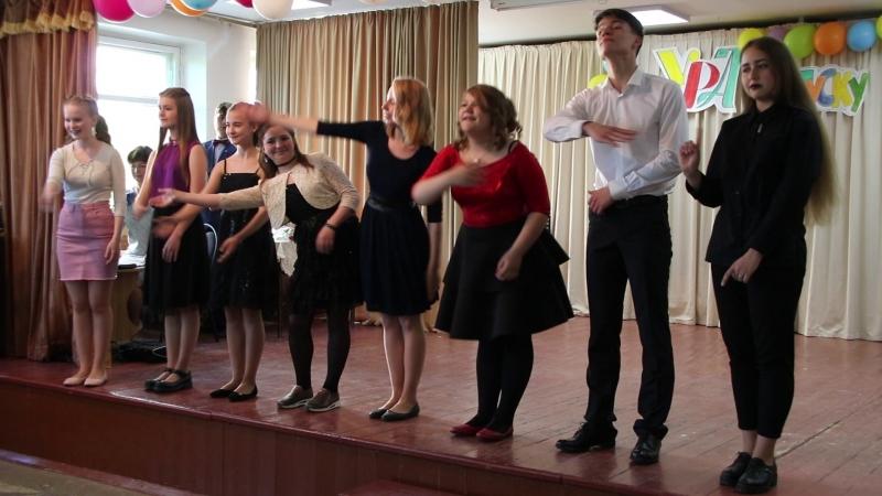 сценка как надо петь