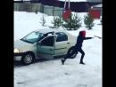 Танец автомобилистки