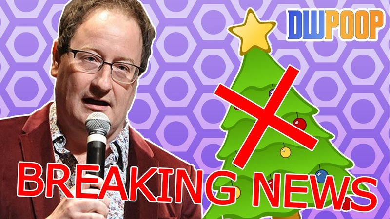 NO DOCTOR WHO CHRISTMAS SPECIAL! | DWPoop Does The News