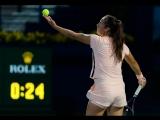 Daria Kasatkina vs Garbine Muguruza | Dubai Semifinal | LIVE