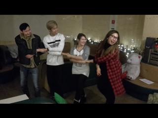 Танец маленьких лебедей команды Подгузники
