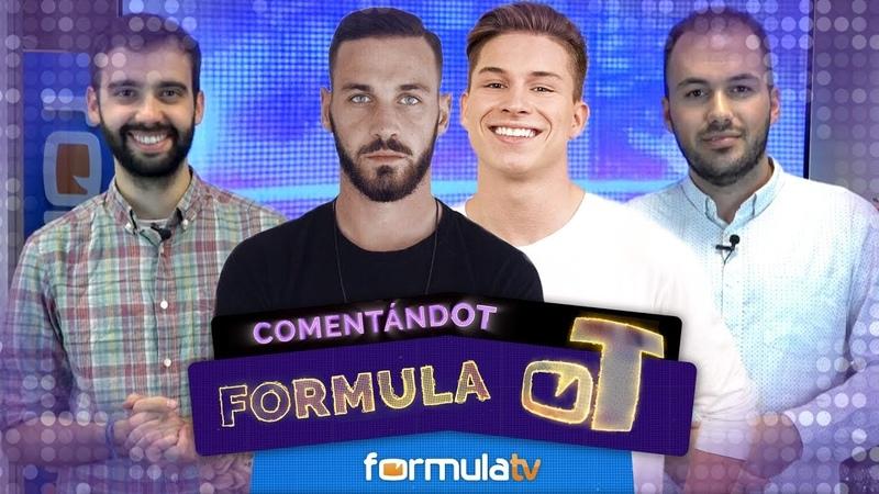 Álvaro Vázquez analiza el paso de su hermano Raoul por OT 2017 y su beso con Agoney - Fórmula OT