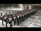 Подготовка курсантов СВКИ к Параду