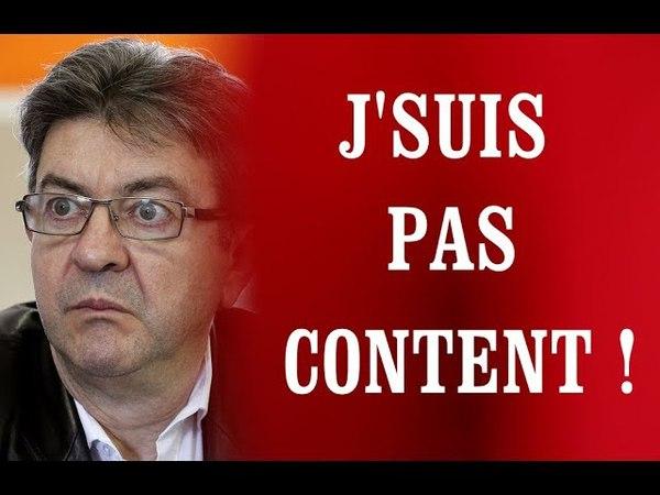 J'SUIS PAS CONTENT 150 Mélenchon la précieuse ridicule mise en scène Clémentine Autain
