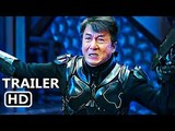 BLЕЕDING STЕЕL Official Trailer (2018) Jackie Chan Sci-Fi Movie HD