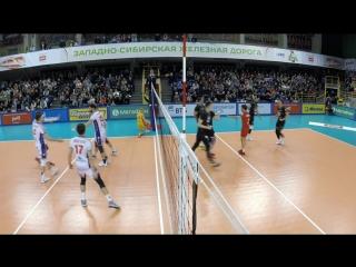 HIGHLIGHTS. Локомотив — Кузбасс Суперлига 2017-18. Мужчины