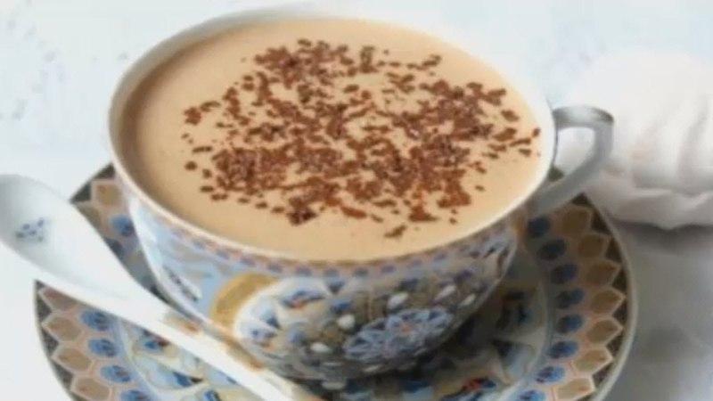 Зефирный горячий шоколад по австрийски