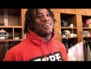 Reuben Foster just goes in on Cinnamon Toast Crunch