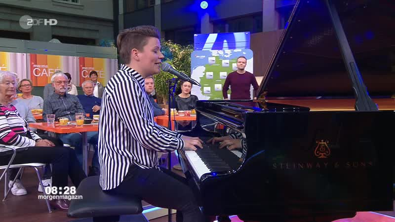 Falkevik - Walk Away / Castle ZDF-Morgenmagazin. moma Café - 2018-11-05