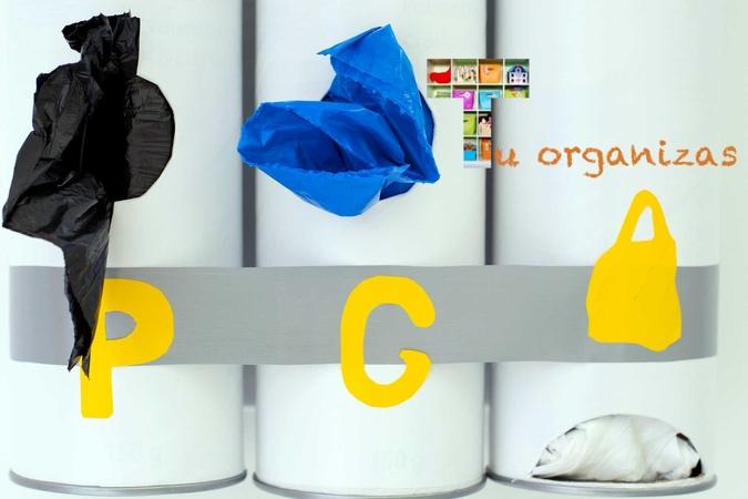 Organizador de sacos de lixo