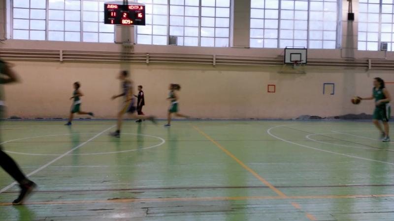 09.02.2017 Баскетбол. Дубна девушки - Центр юноши2004 (5