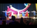 наш 1-й танец на конкурсе - это Крым оценки жюри 5, 5, 4, 5.