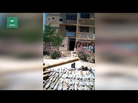 Сирия: САА обнаружила штабы боевиков на севере провинции Хомс
