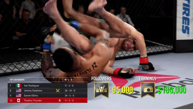 EA SPORTS UFC 3 _ GOAT Career Mode Trailer _ Xbox One, PS4_Full-HD