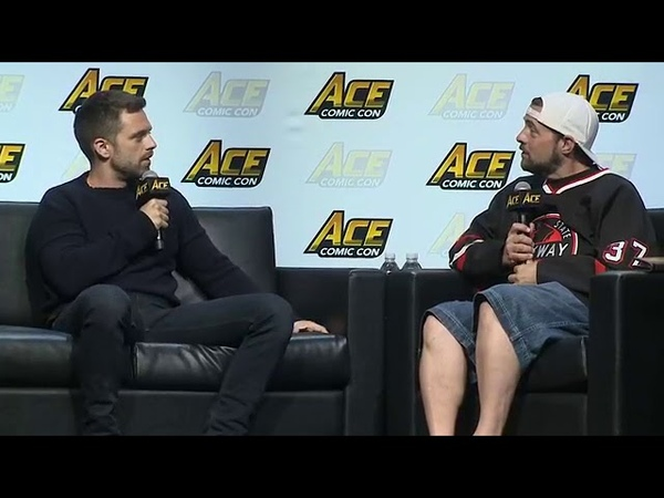 Sebastian Stan , Anthony Mackie Tom Holland - Panel at Ace Comic Con Seattle