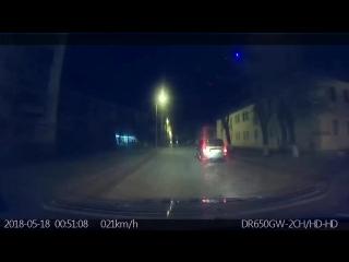 Ночной патруль помогает сотрудникам ГИБДД выявлять нетрезвых водителей на дорогах Сызрани