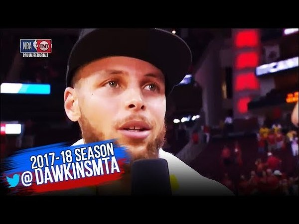 Stephen Curry Postgame Interview | Warriors-Rockets Game 7 | 2018 WCF | FreeDawkins