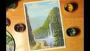 Рисуем горный пейзаж гуашью.Рисуем природу.Draw a mountain landscape gouache. Draw nature.