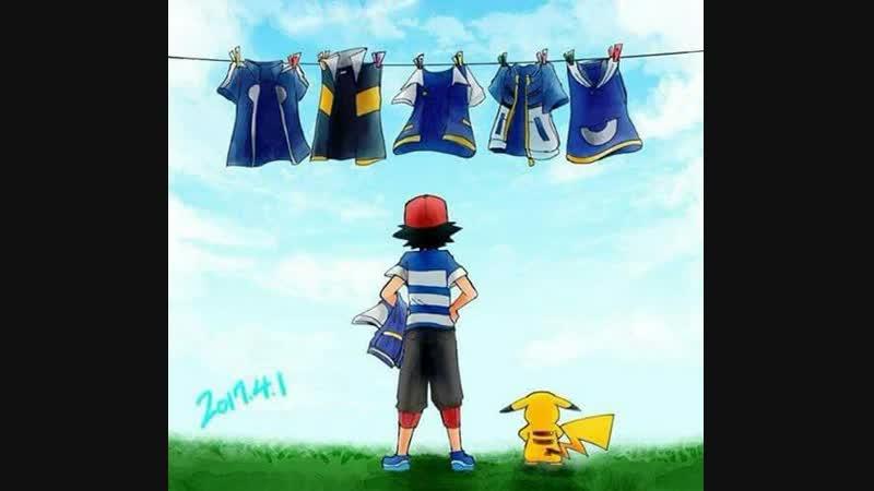Speedpaint/Pokemon-Ash/by-LYRA (Старое видео)