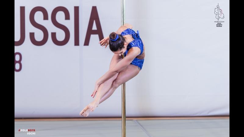POLE SPORTS RUSSIA 2018   Ревенко Александра